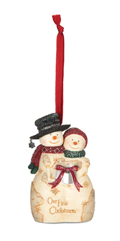 "Christmas Ornament - ""Our First Christmas Ornament"""