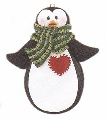 "Christmas Ornament - ""Penguin"""