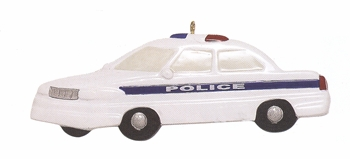 "Christmas Ornament - ""Police Car"""