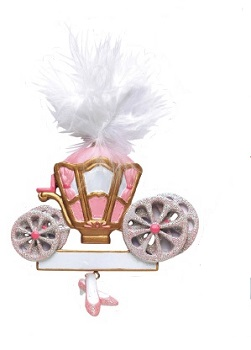 "Christmas Ornament - ""Princess Carriage Ornament"""