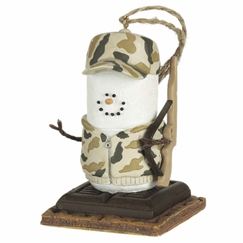 "Christmas Ornament - ""S'mores Hunter Ornament"""