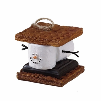 "Christmas Ornament - "" S'mores Sandwich Ornament"""