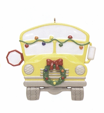 "Christmas Ornament - ""School Bus Driver"""