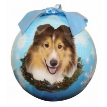 "Christmas Ornament - ""Sheltie"""