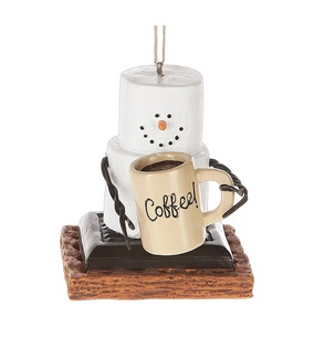 Christmas Ornament - S'mores With Coffee Mug Ornament