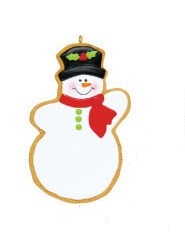 "Christmas Ornament - ""Snowman Cookie Ornament"""