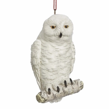 "Christmas Ornament  - ""Snowy Owl Ornament"""