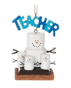 Christmas Ornament - S'mores Teacher Ornament