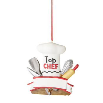 "Christmas Ornament - ""Top Chef Ornament"""