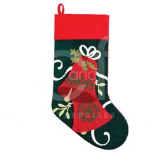 "Christmas Stocking - ""Jingle Bells Stocking"""