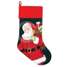 "Christmas Stocking - ""Santa Stocking"""