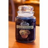 """Christmas Tree Hill Fragranced Candle - 22 oz. Jar - """"Blueberry Muffin"""""""