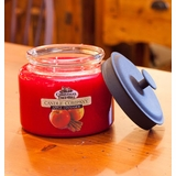 "Christmas Tree Hill Fragranced Candle - 64 oz. Jar with Metal Lid - ""Apple Cinnamon"""