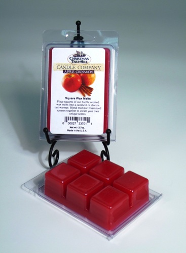 Christmas Tree Hill Wax Melts - Apple Cinnamon