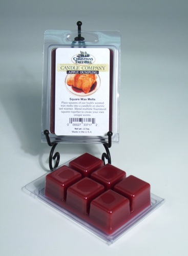 Christmas Tree Hill Wax Melts - Apple Dumpling