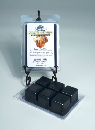 Christmas Tree Hill Wax Melts - Blueberry Muffin