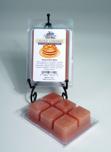 Christmas Tree Hill Wax Melts - Buttered Maple Syrup