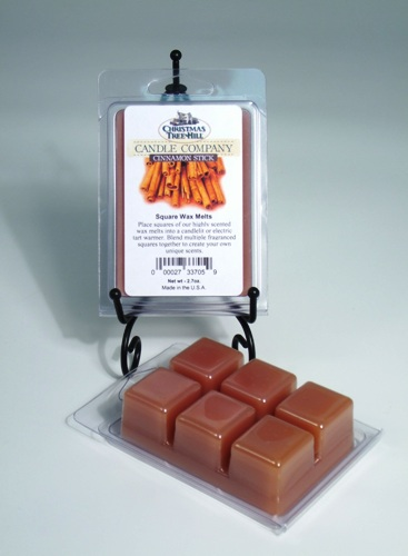 Christmas Tree Hill Wax Melts - Cinnamon Stick