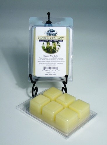 Christmas Tree Hill Wax Melts - Country Honeysuckle
