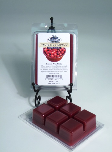 Christmas Tree Hill Wax Melts - Cranberry