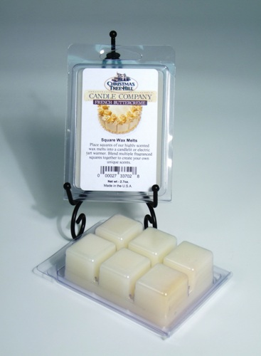 Christmas Tree Hill Wax Melts - French Buttercreme