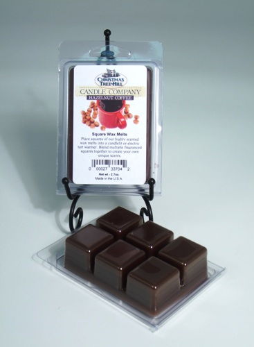 Christmas Tree Hill Wax Melts - Hazelnut Coffee
