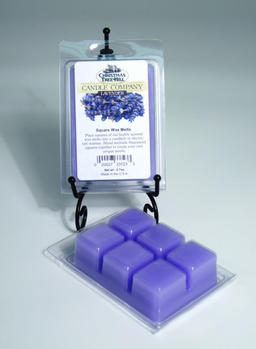 Christmas Tree Hill Wax Melts - Lavender