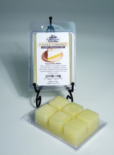 "Christmas Tree Hill Wax Melts - ""Lemon Meringue Pie"""