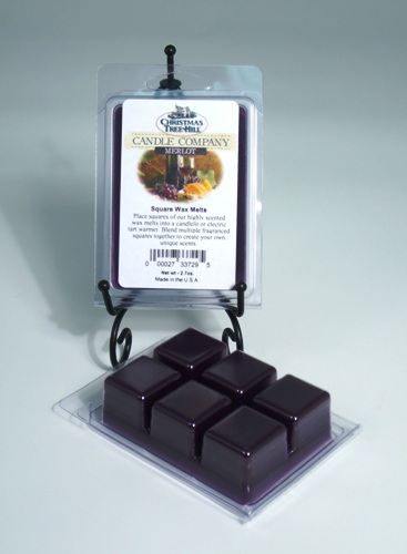 Christmas Tree Hill Wax Melts - Merlot