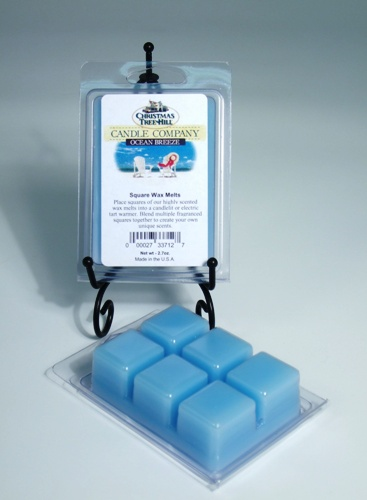 Christmas Tree Hill Wax Melts - Ocean Breeze
