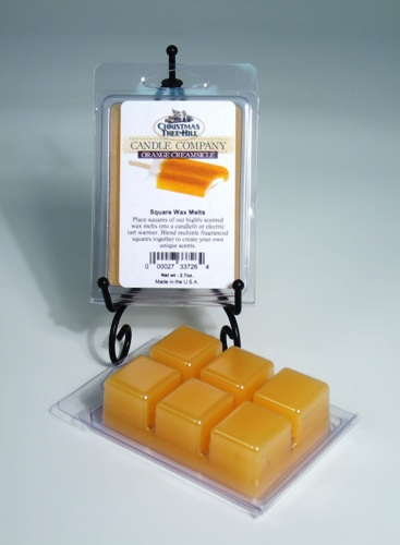 "Christmas Tree Hill Wax Melts - ""Orange Creamsicle"""