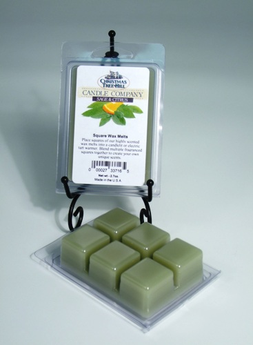 Christmas Tree Hill Wax Melts - Sage & Citrus
