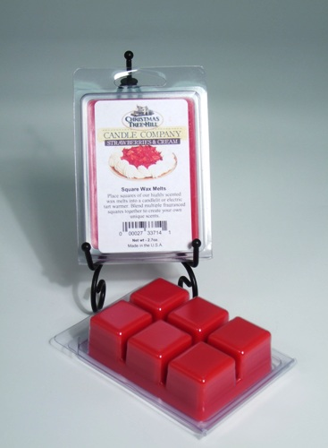 Christmas Tree Hill Wax Melts - Strawberries & Cream