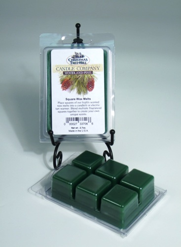 Christmas Tree Hill Wax Melts - Woodland Pine