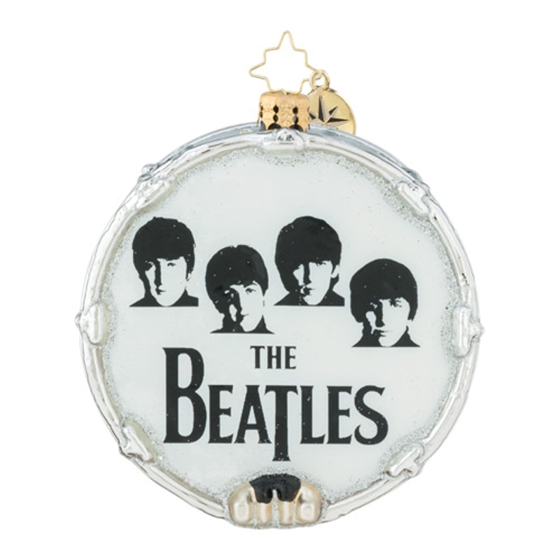 Christopher Radko Glass Ornament - Beatles - Beat-le Mania 2018