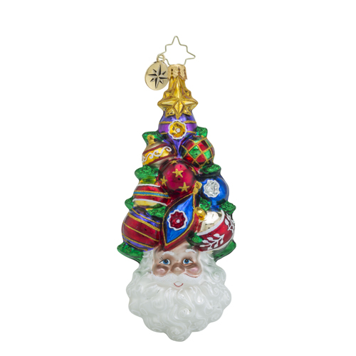 "Christopher Radko Glass Ornament - ""A Cluster Ahead"""