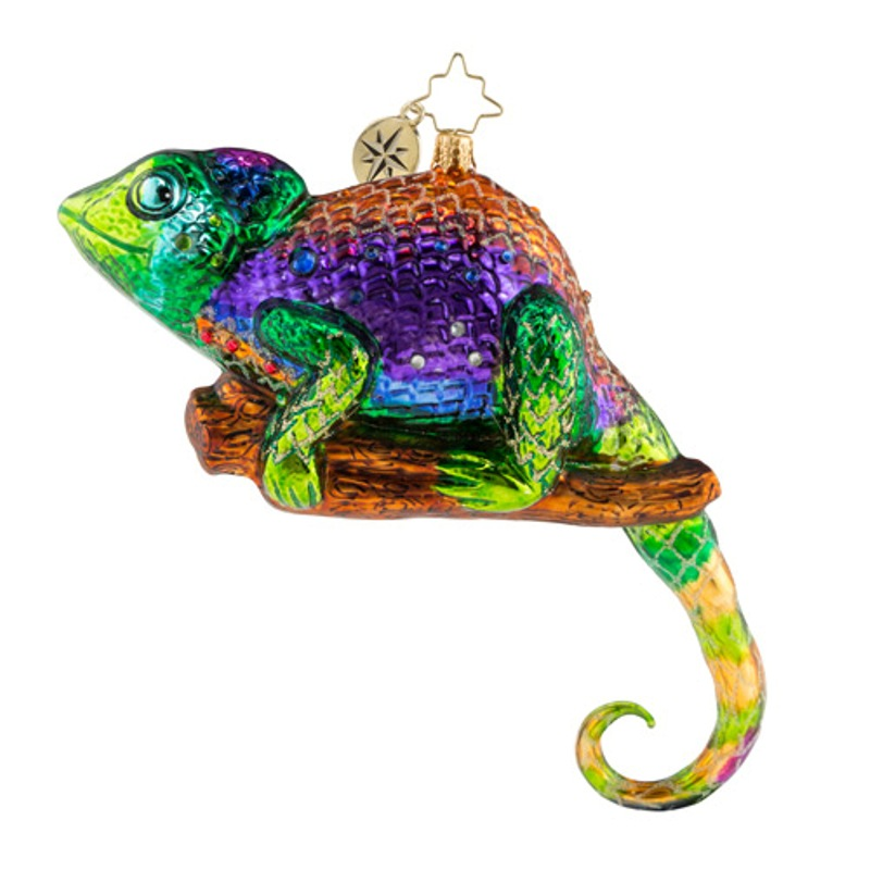 Christopher Radko Glass Ornament - A Colorful Personality 2018