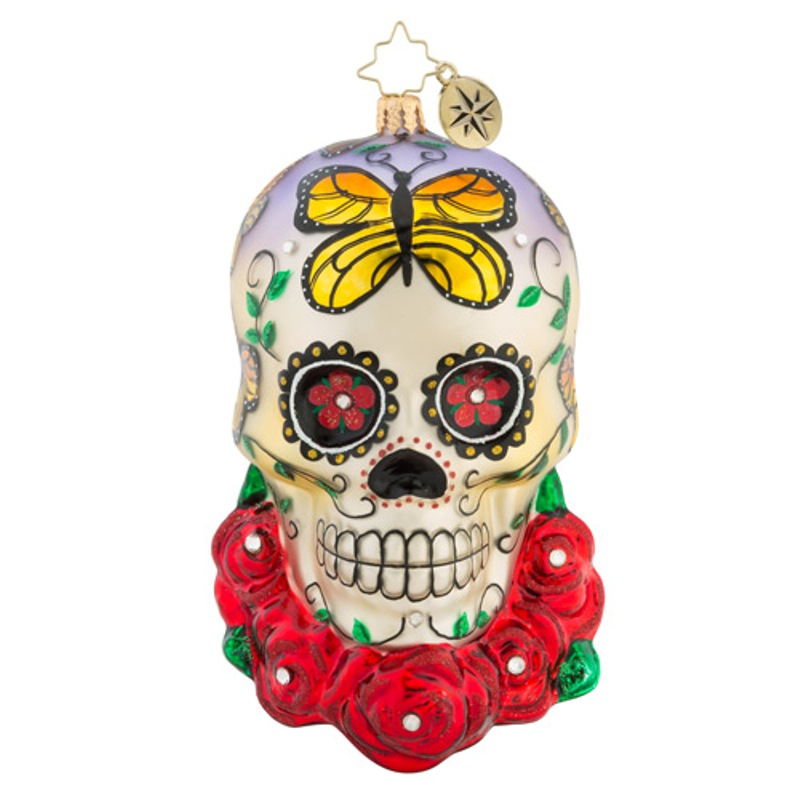 Christopher Radko Glass Ornament - A Head For Details 2018