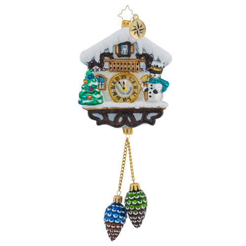 "Christopher Radko Glass Ornament - ""Alpine Chime Time"""