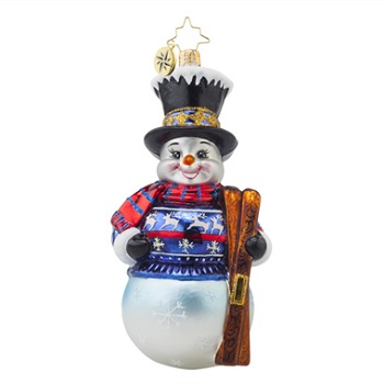 Christopher Radko Glass Ornament - Alpine Delight