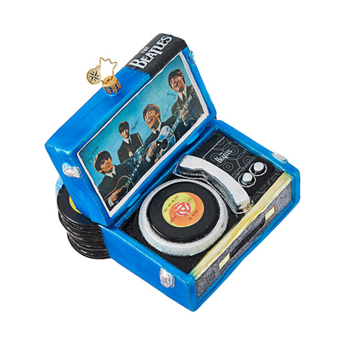 Christopher Radko Glass Ornament � Beatles' Record Player