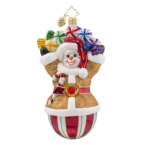 "Christopher Radko Glass Ornament - ""Candy Galore"""