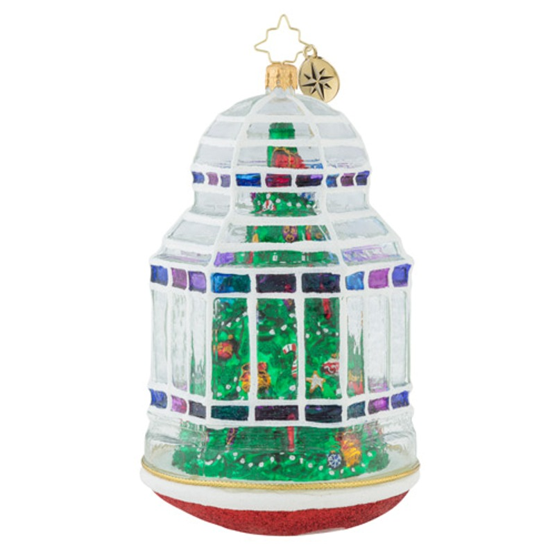Christopher Radko Glass Ornament - Christmas Conservatory 2018