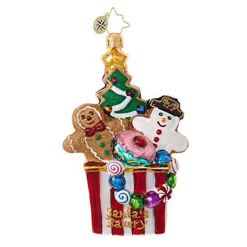 Christopher Radko Glass Ornament � Christmas Cookie Comfort BT