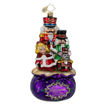 "Christopher Radko Glass Ornament - ""Complete Suite"""
