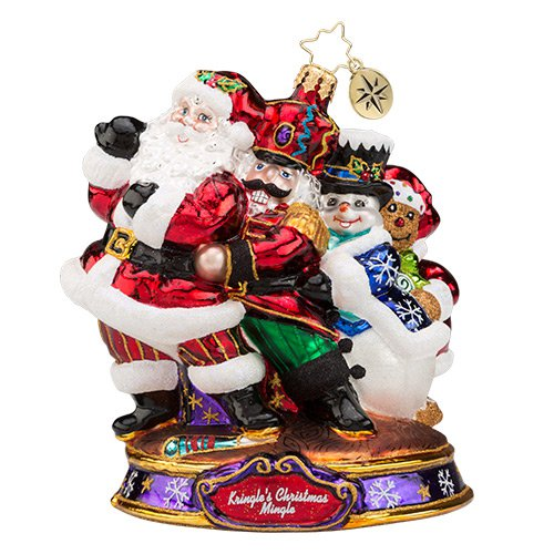 Christopher Radko Glass Ornament - Conga KCM