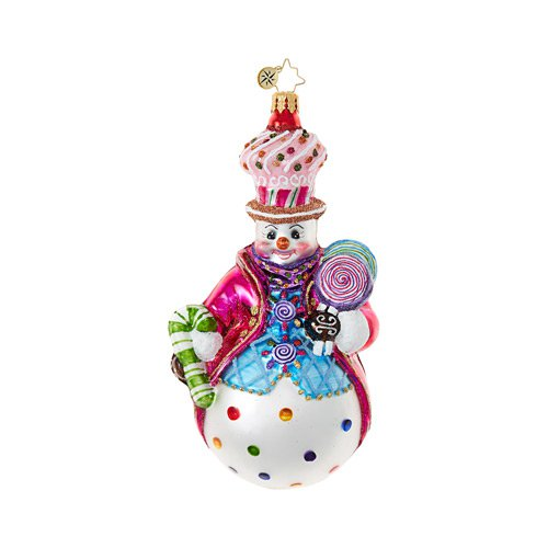 "Christopher Radko Glass Ornament - ""Couldn't Be Sweeter"""