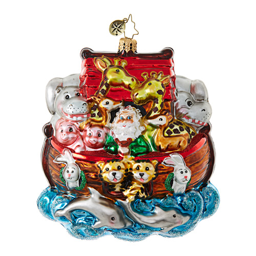 Christopher Radko Glass Ornament � Everyone On