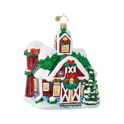 "Christopher Radko Glass Ornament - ""Farm Fiesta"""