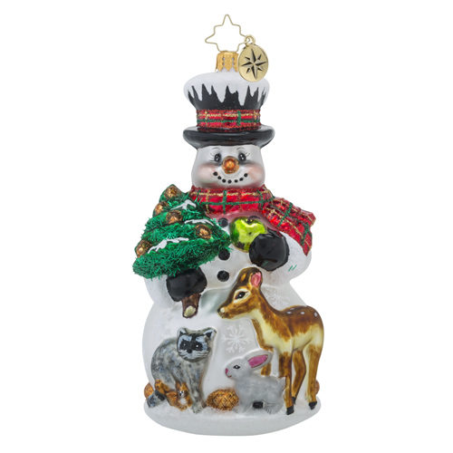 "Christopher Radko Glass Ornament - ""Feast For Friends"""